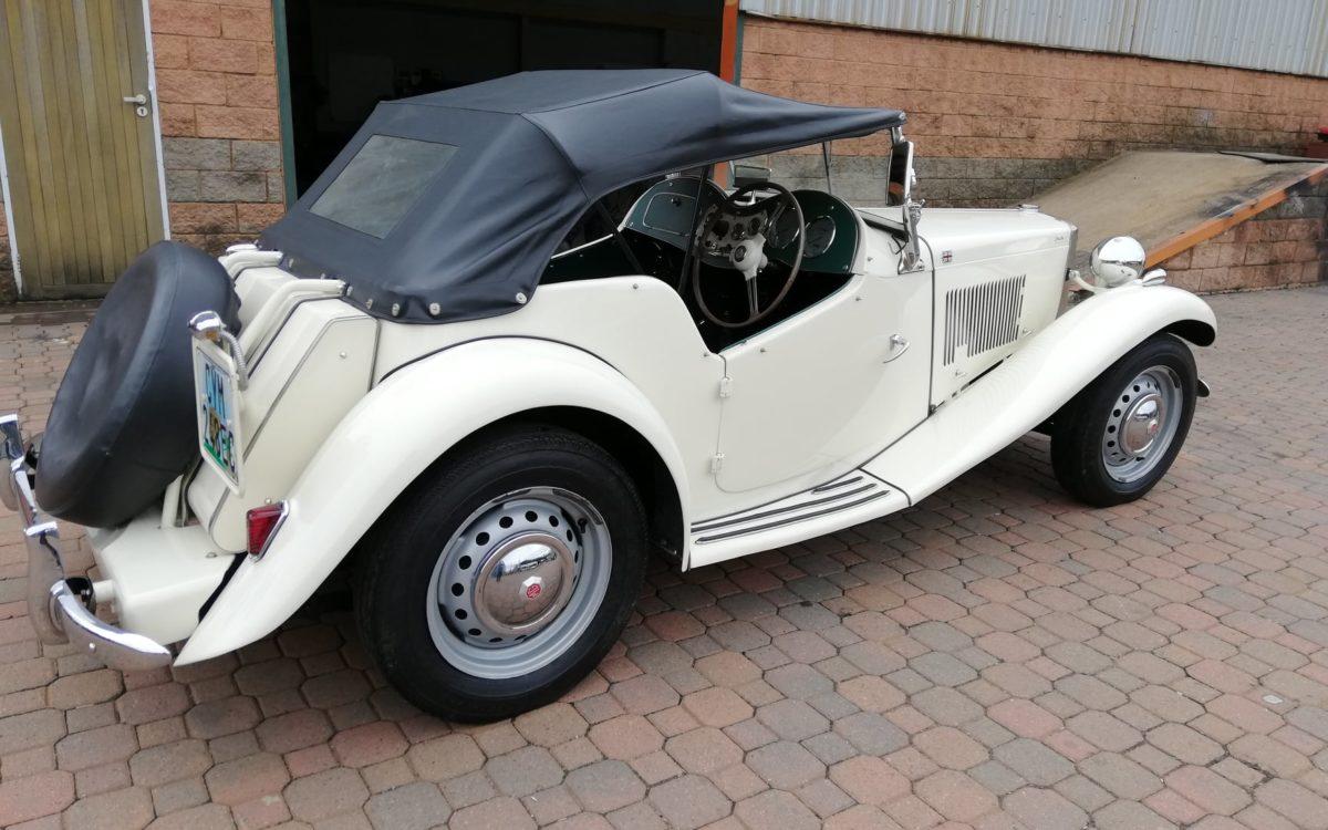 1952 MG TD 3