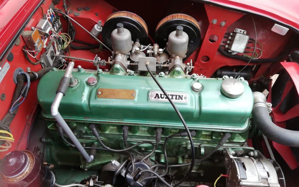 1958 Austin Healey 100-6 BN4 15